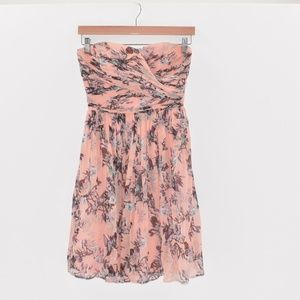 J.Crew Strapless Dress Silk Bodice - Size 0